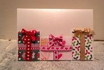 Christmas crafts i did / All craft project were inspired from pinterest and youtube.