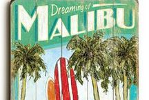 Dreaming of Malibu, California / Daycation to Malibu. Boston is not as nice in the winter!