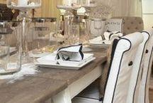 KUCHNIA I JADALNIA / Aranżacje kuchni w stylu New England, Hamptons, Modern Classic oraz Riviery Maison, czyli to, co zachwyca nas najbardziej.