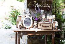 Rustic & Vintage Wedding Idea
