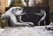 Paint our streets with art! / a celebration of street art and graffiti across the world