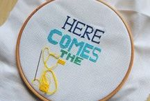Embroidery Obsession / inspiring embroidery and cross stitch projects
