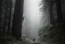 ihmisen pienuus luonnon edessä