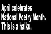 Poetry Month / A collection of the best classroom resources to help you celebrate poetry! Videos, activities and more.