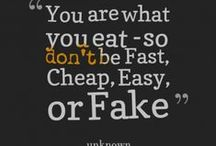 Food Quotes / Our favorite food sayings