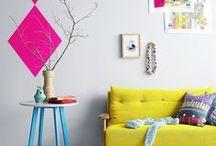 Des couleurs à l'intérieur ( basta yo le Scandinave) / Déco boho