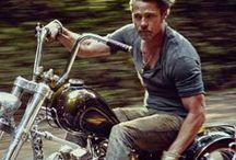Biker 【guy】 / Cool guy biker. Harley Davidson.