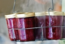 Caning, preserving / With all these fruits and veggies, we can stock up for the long New Zealand winter.