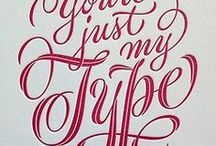 Typography / lettering / +