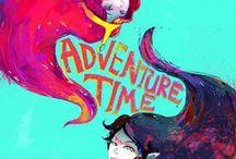 Adventure Time / LETSSSSS GOOOOO ON AN ADVENTUREEEEEEEEEEEE! IMMA BE MARCELINE!