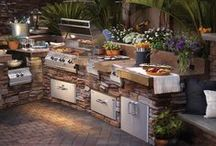 Grills / Lehrer's offers the finest quality Outdoor Kitchens and Outdoor Barbecues – everything from charcoal and pellets to propane and natural gas. We also offer charcoal smokers, pellet smokers and electric grills.