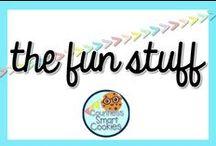 <<The Fun Stuff>> / Bunches of fun stuff to do in the classroom