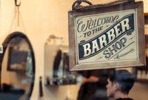 Men. The Barbershop. / The male grooming market @ Stringers barbershop.