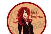Redheads Rule / Captivated, by red & copper colour hair.