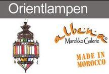 Orientalische Lampen & Laternen / Marokkanische Hängeleuchten, arabische Pendelleuchten, orientalische Deckenlampen, Orientlaternen und Wandlampen  – sie schaffen eine geheimnisvolle Atmosphäre in jedem Raum. www.albena-shop.de
