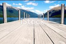 Pier Scape Stock Photography / Simply Stunning Tranquil Pier Scenes.... Available Here....