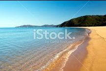 Abel Tasman National Park Stock Photography / Golden Beaches... Crystal Clear Sea... Lush Coastal Forest... Pure Beauty....