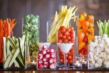 Pretty Presentation / Food Presentation Ideas for Your Next Gathering