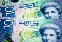 New Zealand Money NZD / Stockphotos of $NZD NZD NZDollars New Zealand Money here... New Zealand has fresh new Banknotes... New Images here...