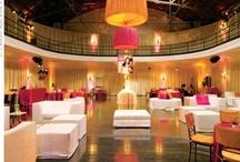 Dance hall lighting & decor