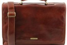 Business Briefcases / Business Leather Briefcases Made in Italy - Cartelle Business in Vera Pelle Made in Italy - Tuscany Leather