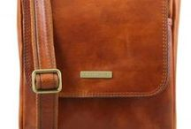 Men's Bags / Italian Leather Men Bags - Borse in pelle Uomo Made in Italy - Tuscany Leather