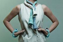 joyeria textil / todo echo a mano