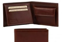 Wallets For Men & Accessories / Leather Wallets for Men Made in Italy - Portafogli da Uomo in vera Pelle Made in Italy - Tuscany Leather