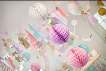 party decor, ideas