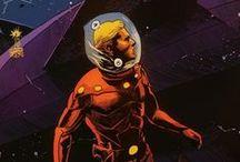 Astronauts & spacesuits... / by Jérémy Courcelles
