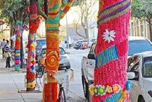 Yarn Bombing... / by Marie Wilfinger