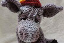 Virkatut lelut - Crochet toys