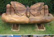 Wood Art and Sculptures