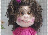 Virkatut nuket - Crochet dolls