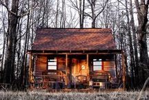 Tiny Houses / Ideas for living a simple lifestyle in a tiny home.