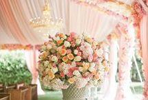 Peach/Apricot Wedding / #Peach #Wedding