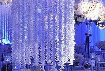 Blue Wedding / #Blue #Wedding