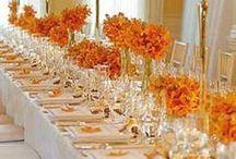 Orange Wedding / #Orange #Wedding