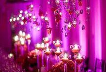 Hot Pink Wedding / Hot #Pink/ #Fuchsia #Wedding