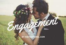 Séance photo : engagement / Rien de plus beau qu'une belle séance photo engagement avant l'un des plus beaux jours de votre vie de couple ! un magnifique souvenir et une sublime preuve de votre amour !
