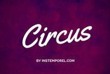 Cirque et fête foraine / Un mariage ou un baptême aux airs de grande fête populaire et bon enfant, c'est possible avec le thème cirque !