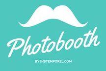 Photobooth / Vous pourrez piocher ici, un tas d'idées créatives et originales pour réaliser un #Photobooth mémorable pour vos invités !