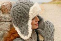crochet - knitted teen/adult hats
