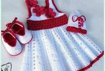 Crochet - knitted  child