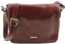 TL MESSENGER / Leather Messenger Bags - Borse Messenger in vera Pelle Made in Italy - Tuscany Leather