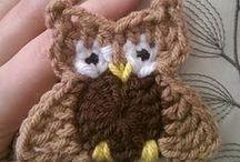 Virkatut... -  Crochet appliques