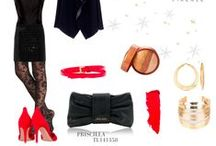 OUTFIT - Tuscany Leather / Fashion Outfit with our leather bags for women and for men