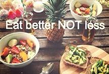 fitness food, salads