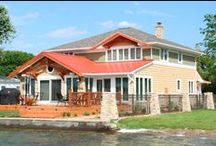 Red Roof Renovation / See the impressive Before and After of this beautiful lake home.