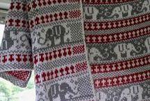 Crochet-Knitted blankets, afgans